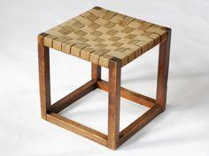 Cubic Stool attributed to Josef Hoffmann - Alexis Vanhove | Brussels