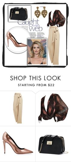 """""""Untitled #24"""" by miyala ❤ liked on Polyvore featuring Wet Seal, Versace, Alexander Wang and Whiteley"""