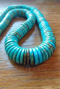 Santo Domingo Kewa turquoise necklace Native by NativeVisionsWI