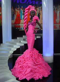 Miss Central African Republic 2012 by Ninimomo Dolls