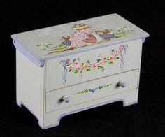 karen markland | Karen Markland Miniature Toy Box - Hand Painted and Artist Signed 1:12 ...
