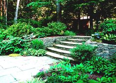 The Challenge Of A Hill   Design And Landscaping Ideas   Photo