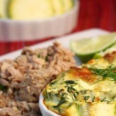 budincă de dovlecel cu ton Quiche, Breakfast, Food, Morning Coffee, Essen, Quiches, Meals, Yemek, Eten