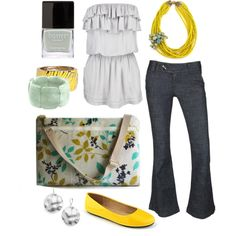 """walking on sunshine"" by htotheb on Polyvore"