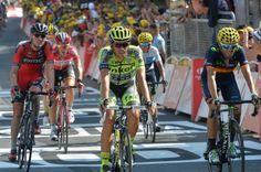 Contador, Valverde and Van Garderen. Stage 13.  Muret to Rodez.