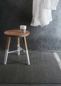DIPPED ASH STOOL | TOAST