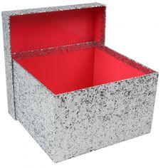 Glitter large Christmas gift box - Christmas Gift Bags & Boxes - Christmas Wrap - Christmas Shop
