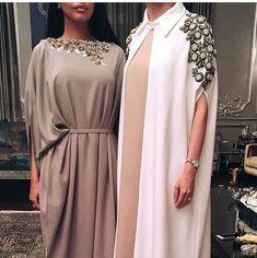 Arab Fashion, Muslim Fashion, Modest Fashion, Fashion Dresses, Mode Abaya, Mode Hijab, Modest Wear, Modest Outfits, Look 2018