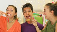 The Mouthguard Challenge | Brooklyn and Bailey - YouTube