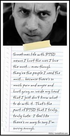 This is true when we haven't been through treatment. Recovery from PTSD is possible. Your triggers might not ever go away. But with the help of DBT or CBT the emotional respose to a trigger can be reduced.