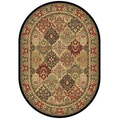 Dynamic Rugs Ancient Garden 57008-3939 Multi