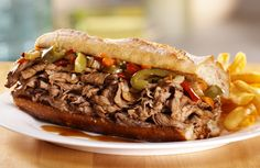 """Chicago Style Italian Beef...otherwise known as heaven. also known as """"food you cannot find in Georgia"""""""