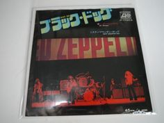 Led Zeppelin / Black Dog  Ultra rare Japanese 45 blue label promo copy Don Ho on B-side  レッドツェッペリン激レアEPブラックドックB面違い  http://page4.auctions.yahoo.co.jp/jp/auction/d193169930  #fareastrecords #records #single #45 #japanesesingle #japanese45 #japanesepicturesleeve #レコード #国内盤レコード #ヤフオク #ledzeppelin #hardrock #jimmypage by far_east_records