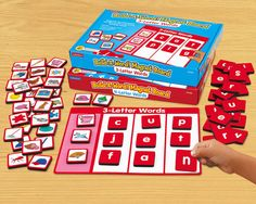 Build-A-Word! Magnet Board - 3-Letter Words #LakeshoreDreamClassroom