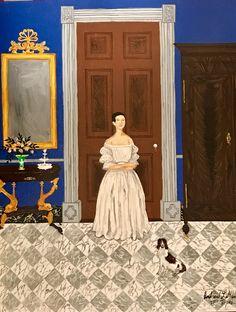 """Félicie Aime, Mme. Alfred Roman at Le Petit Versailles"""