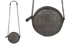Bioworld x Rogue One Death Star crossbody bag available at SuperHeroStuff
