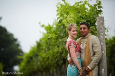 Love this wedding portrait in the vines at Keswick Vineyards.