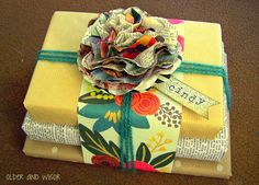 stacked gift wrap