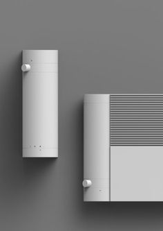 Check this out on leManoosh.com: #Button #Electronics #Material Break #Minimalist #squary #Vent #White Form Design, Shape Design, Ux Design, Design Trends, Pattern Design, Industrial Design Sketch, Design Research, Packaging Design, Consumer Electronics