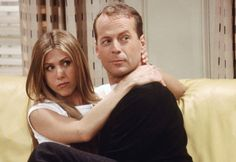 Bruce Willis friends série guest star