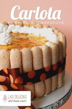 Carlota-de-maracuya o carlota de chinola, deliciosa y fácil receta