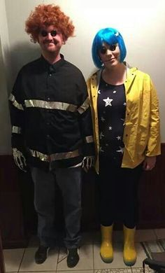 Coraline and Wybie Costumes for Halloween!