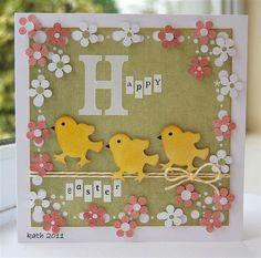 """Loisirs créatifs Pâques : une carte """"Joyeuses Pâques"""" #enfant #bricolage"""