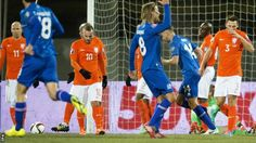 Iceland v Netherlands Woah nelly! Wedding Vows, Iceland, Netherlands, Football, Bridal, Tops, Fashion, Soccer, Ice Land
