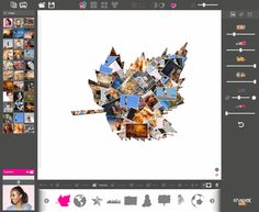 ShapeX ? a quick and unique shape collage generator Creating one-of-a-kind collages with ShapeX is fun and fast, and you're provided with a number of tools to enhance your photographs, too. Shape Collage, Collage Maker, Collages, Photographs, Shapes, Number, Tools, Unique, Collage