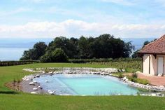 Bionova Natural Swimming Pools Naturpool Pinterest