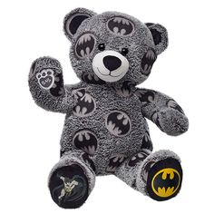 Your favorite DC Comics characters batman, superman, wonder woman and more are at Build-A-Bear®! Shop for unique DC Comics stuffed animals and clothing. Superman Outfit, Batman Outfits, Batman Shoes, Emo Outfits, Batman Room, Batman And Superman, Batman Stuff, Batman Hoodie, Batman Superhero