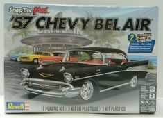 Revell '57 Chevy Bel Air 85-1529 Chevy Impala, Audi Tt, Peterbilt, Lowrider, Mercedes Benz 180, Volkswagen Golf Gti, Ferrari 250 Gto, 57 Chevy Bel Air, Kit