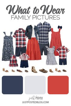 Navy Family Pictures, Fall Family Picture Outfits, Family Pictures What To Wear, Family Picture Colors, Family Outfits, Summer Family Portraits, Summer Family Photos, Family Photo Sessions, Clothing Photography