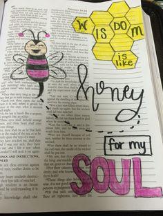 Proverbs 24:14 Bible Journaling