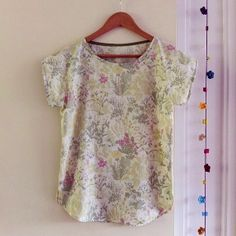 Sew Natural Blog: Easy Spring Top #sewing