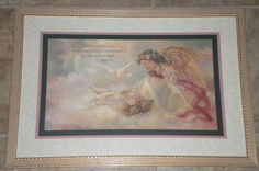 Home Interiors HOMCO Framed Print Picture Bettie Hebert-Felder Thru God's Grace | eBay