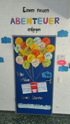 That's how we designed the class door of my art class. - New Deko Sites Class Door, Class Class, Quotes Deep Feelings, Orange You Glad, Classroom Design, Mellow Yellow, Woman Painting, Teaching Tips, Life Skills