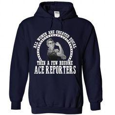 AWESOME SHIRT FOR ACE REPORTER WOMAN T-SHIRTS, HOODIES, SWEATSHIRT (36.99$ ==► Shopping Now)