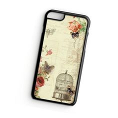 Vintage Butterfly iPhone 6s Case  ^ Materials : Plastic, Rubber ^ Colors : Black, White, Transparent #iPhone #iPhone6S #iPhoneCase #iPhone6SCase #phoneCase #mobileCase #ariesand #ariesandCase