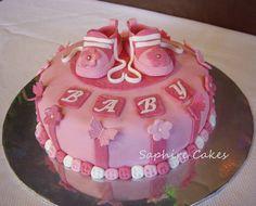 baby shower cakes for girls | Baby Girl Cakes — Baby Shower