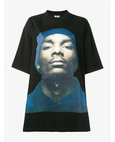 VETEMENTS Snoop Cotton T-Shirt
