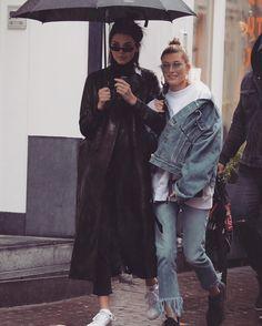 "Gefällt 600 Mal, 2 Kommentare - Kendall Jenner (@kendalljclosets) auf Instagram: ""I love seeing them together ♀️ #kendalljenner #haileybaldwin"""