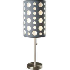 "Milton Green Star Seneca Retro 30"" Table Lamp with Drum Shade"