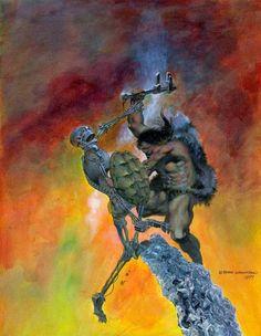 omercifulheaves:  Art by Bernie Wrightson