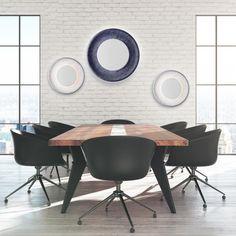 The Spin from Eureka Lighting Eureka Lighting, Indirect Lighting, Power Led, Spinning, Simple, Table, Furniture, Design, Home Decor