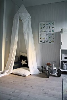 Love the cosy corner. Cosy Corner, Kids Corner, Baby Decor, Kids Decor, Home Decor, Toy Rooms, Teen Bedroom, Kid Spaces, Toddler Bed