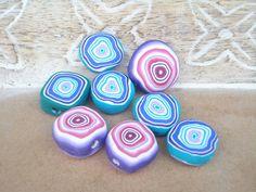 Big Fat disc beads by flowerpower123, via Flickr - Jayne Kriel