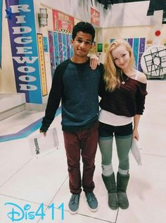 Jorden Fischer and dove Cameron