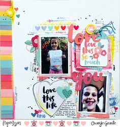 Paper Issues: Product Spotlight: Amy Tangerine Oh Happy Life