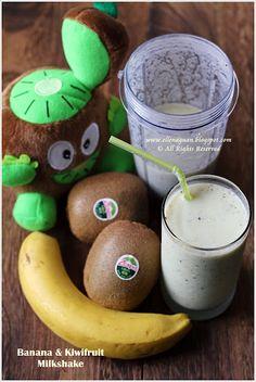Kiwifruit & Banana Milkshake @Ellena | Cuisine Paradise